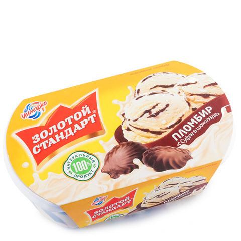 Морож зол станд 475г суфле в шоколаде контейнер