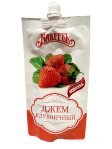 Джем махеев 300г клубника д/п