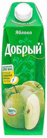 Сок добрый 1л яблоко