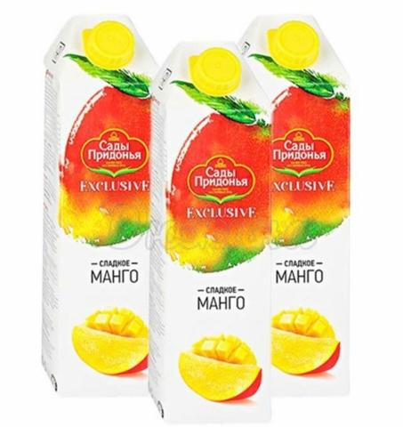 Сок сады придонья 1л манго