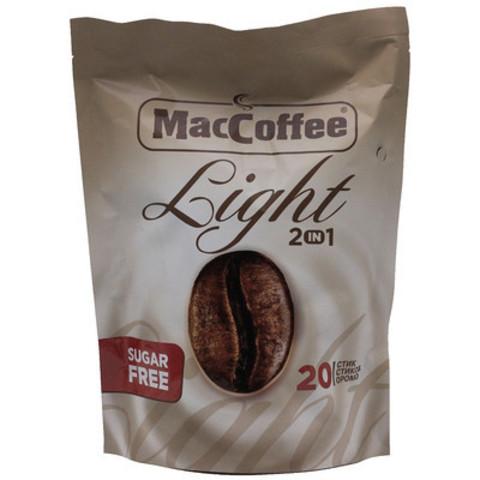 Кофе maccoffee 3в1 12г light
