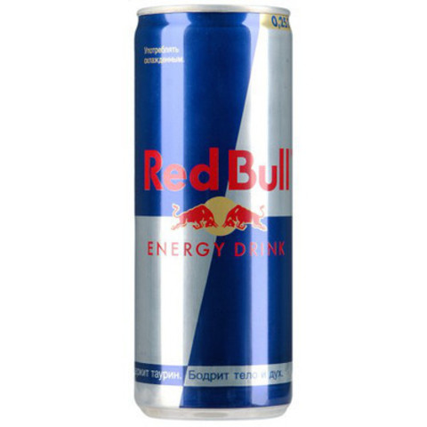 Напиток энергет red bull 250мл ж/б