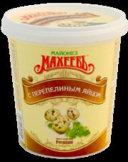 Майонез махеев 800г на перепел яйце 55.5% ведро