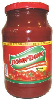 Томат паста помиdoro 1000г ст/б