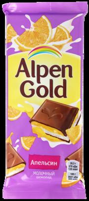 Шок alpen gold 85г апельсин